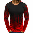 Men's Slim Fit O Neck Long Sleeve Muscle Tee Shirts Casual T-shirt Tops Blouse w <br/> USA Seller❤️Free Shipping ❤️Men Muscle Tee Shirts M-2XL