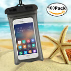 100x Waterproof Pocket Bag Touch Screen Case For iPhone Samsung Note 8 S8 S9 LOT