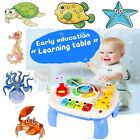 Baby Toddler Toy Musical Learning Table Music Activity: Crib Stroller Car Travel