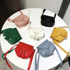 Внешний вид - Lovely Children Girls PU Leather Tassel Small Shoulder Messenger Bag Purse NJUS