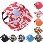 Puppy Pet Dog Summer Baseball Hat Canvas Cap Unisex Outdoor Visor Hat Sunbonnet