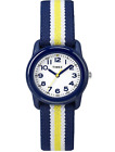 Timex Boys Wristwatch Quartz Time Machine Analog Elastic Fabric Strap NEW