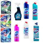 Domestos Toilet Bathroom Cleaning Supplies Rim Blocks Bleach Spray Any 4 For £13