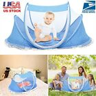 Foldable Infant Baby Mosquito Net Tent Mattress Cradle Bed Canopy Cushion Pillow image