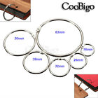 Внешний вид - Loose Leaf Book Binder Hinge Snap O Ring Locking Keychain Album Scrapbook Crafts