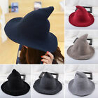 US Wool Halloween Witch Hat Modern Witch Hat Made From High Quality Sheep