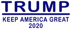 Donald Trump for President 2020 Decal Sticker multicolor custom sizes available