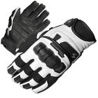 Scorpion Mens White/Black Klaw II Leather Motorcycle Gloves