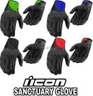 Icon Sancuary Gloves All Colors & Sizes Leather Glove Motorcycle