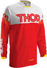 Thor Mens & Youth Red/White Phase Hyperion Dirt Bike Jersey MX ATV 2016