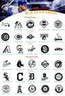 Baseball Vinyl Decal Stickers Car Window National American League USA Seller on Ebay