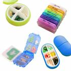Tablet Pill Medicine Boxes Organizer Holder Storage Container Case 7 Day Weekly