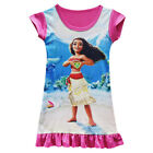 Dress For Girls Kids Moana Cosplay Costume Short Sleeve Princess Sundress Xmas