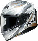 Shoei White/Silver/Grey RF-1200 Incision Full Face Motorcycle Helmet Snell DOT