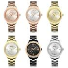 Fashion Lady's watch Alloy Quartz Waterproof Crysatl Stainless Steel Band Watch