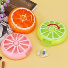 Fruit Shape Mini Medicine Pill Box 7 Days Weekly Travel Medicine Holder AZ