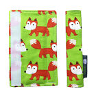 Pushchair Stroller Strap Covers for Bugaboo, M&P, Mamas & Papas, Stokke, Foxes