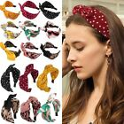 Women's Cute Hairband Big Bowknot Headband Dot Hair Hoop Band Hoop Accessories