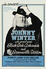 JOHNNY WINTER - Portland Coliseum 1973 Original Concert Poster Giclee