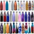 Hold up to ridicule Bottle Water Flask Thermos Stainless Steel Vacuum Insulated Drink Cold Cup