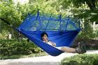 Ultralight Outdoor Camping Hunting Mosquito Net Parachute Hammock 2 Person