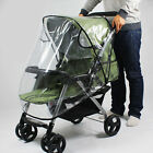 Universal Stroller Rain Cover Infant Baby Pram Pushchair Clear Windproof Shield