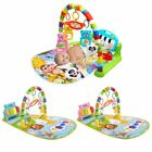 Baby Play Mat Toddler Gym Blanket Piano Pedal Fitness Frame Toy with Music XF