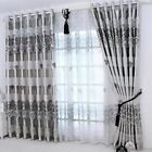 1 pc New Curtains for Windows Drapes European Modern elegant noble printing shad