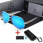 2018 Luxury Mercede Benz Polarized Sunglasses Men Aviator Driving Sunglasses