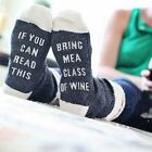 Custom wine socks If You can read this Bring Me a Glass of Wine Socks autumn spr