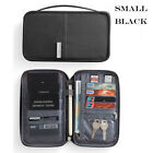 Travel RFID Blocking Card Storage Bag Passport Document Wallet Organizer Holder <br/> Good supply sufficient!Fast Shipping !High Quality!