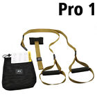PRO TRX Fitness Resistance Bands Suspension Pull Rope Armygreen TACTICAL Workout