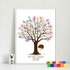 Canvas Baby Shower  Finger Pictures DIY Tree Weeding Fingerprint Paintings