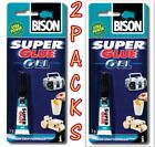 Bison Super Glue Gel Adhesive Non Drip Formula Pool & Snooker Cue Re Tipping 3g £5.25 GBP on eBay