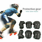 Children Adults Skate Cycling Sports Knee Elbow Protective Pad Gear Set Outdoor image