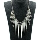 Christmas Gift  Spike Necklace Steampunk Fashion Jewelry For Women Chain