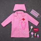 Kids Girls Boys Doctors Costume Halloween Cosplay Outfit Fancy Party Dress up