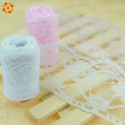 20Yard/Lot (19M) DIY Embroidered Net LaceTrim Fabric Pink And White Selling Lace