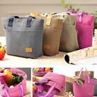 Lunch Box Picnic Carry Tote Storage Bag Waterproof Insulated Thermal Cooler Hand