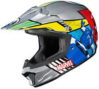 HJC Youth Kid's CS-XY II Marvel Avengers ATV MX Offroad Motorcycle Riding Helmet
