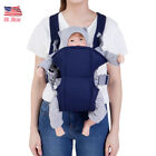 Kyпить US! Newborn Baby Infant Sling Adjustable Backpack Comfort Buckle Carriers Wrap на еВаy.соm