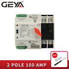 GEYA Dual Power Automatic Transfer Switch 2P 100A 63A 220V 50 60Hz PC Level