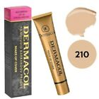 Dermacol High Cover Makeup Foundation Waterproof SPF-30 Authentic 210