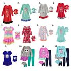 "Внешний вид - Girl 4-14 and 18"" doll matching nightgown pajamas ft Dollie Me & American Doll"