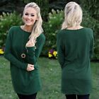 Women Autumn Winter Knitted Sweater Dress O Neck Casual Loose Party Mini Dresses