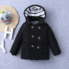 AU Winter Kid Baby Boy Girl Hooded Jacket Chidren Warm Thick Coat Outerwear