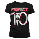 Officially Licensed Betty Boop - Betty Boop Perfect 10 Women T-Shirt S-XXL Sizes $29.41 AUD on eBay