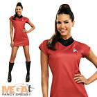 Classic Uhura Ladies Fancy Dress Star Trek Red Sci Fi Uniform Adults Costume on eBay