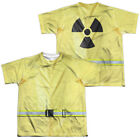 Hazmat Suit Halloween Costume Kids T-shirt Front & Back