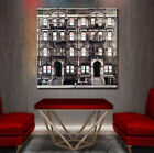 Led Zeppelin Physical Graffiti Album Cover NYC Village Canvas Art